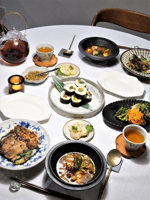 【ミートフリーデー】不定期ゆるヴィーガン♪韓国料理の晩御飯♪