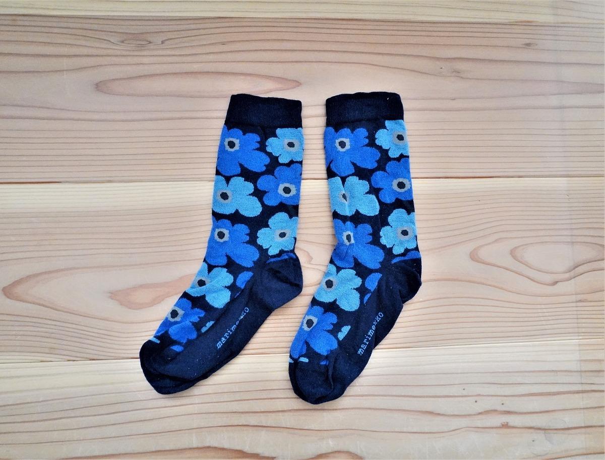 マリメッコ靴下1