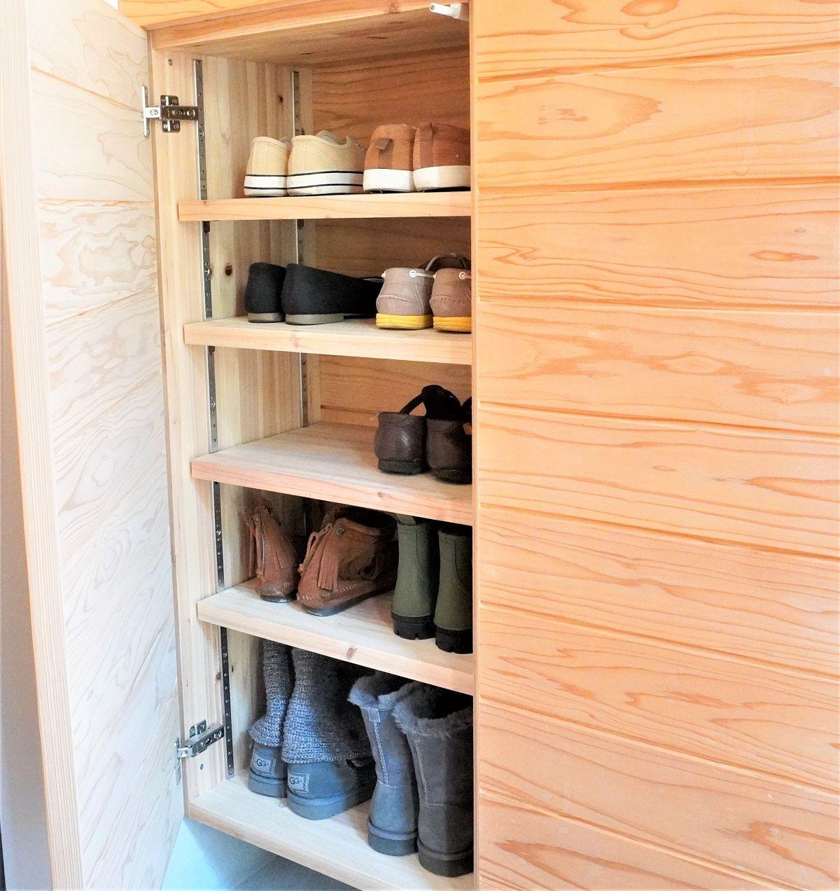 玄関靴箱4