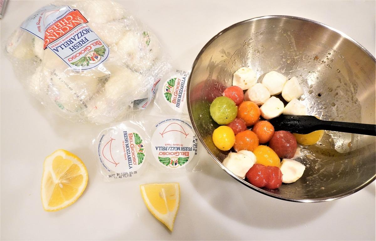 コストコモッツァレラチーズ1