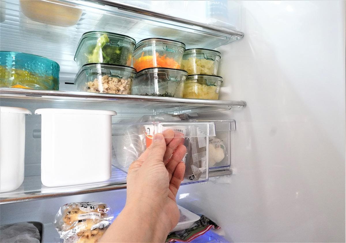 ニトリ冷蔵庫整理トレー15