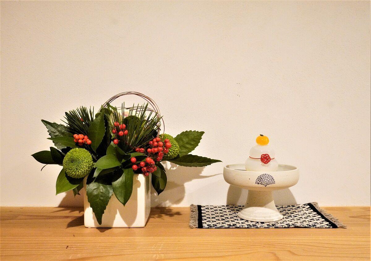 お正月お花9