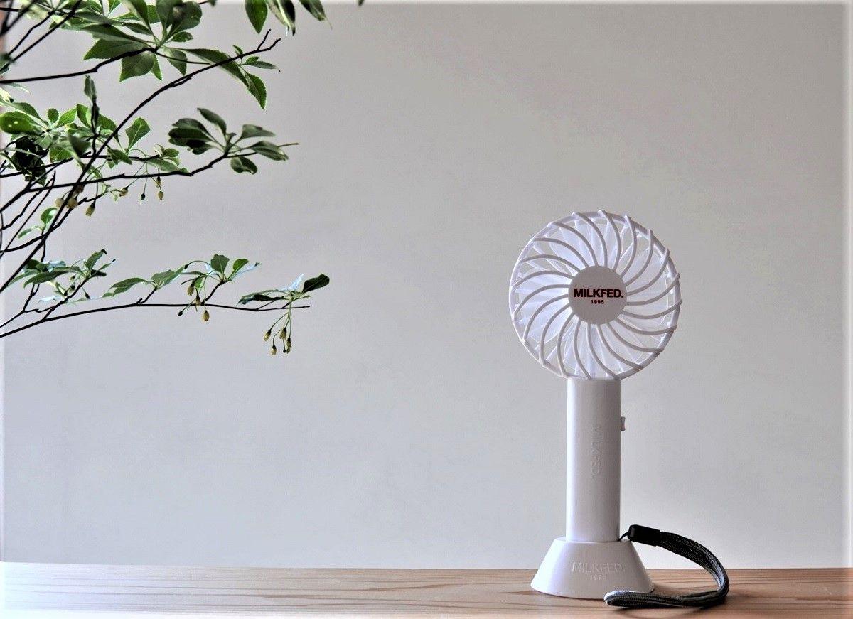 ミルクフェド小型扇風機13
