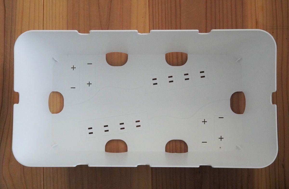 3COINSコンセント収納BOX2