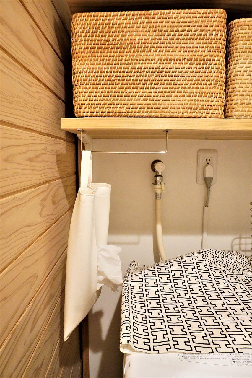 セリアグッズで洗濯スペース改善5