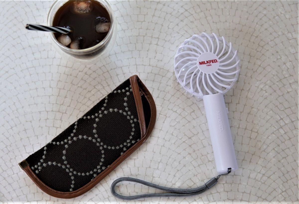 ミルクフェド小型扇風機7