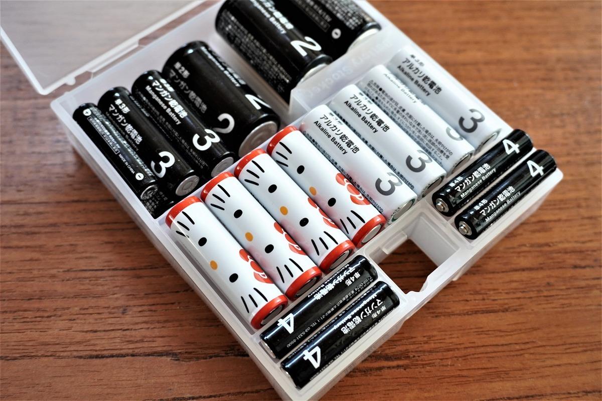 キティちゃん乾電池10