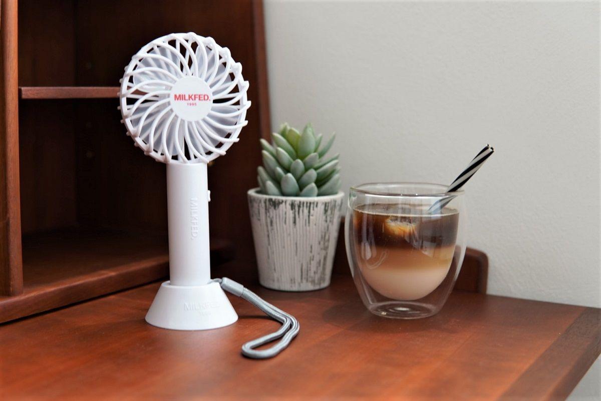 ミルクフェド小型扇風機6