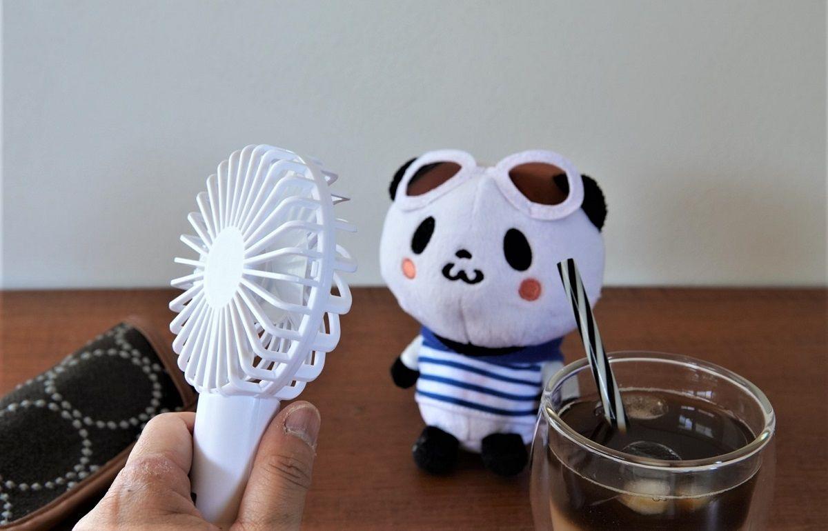 ミルクフェド小型扇風機9