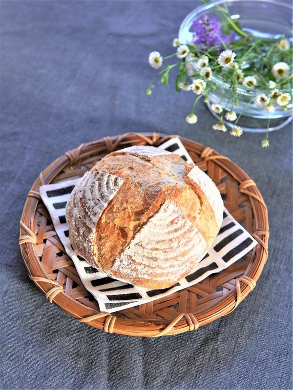 天然酵母カンパーニュ焼けた♪ゆるっと簡単で最高においしい、私が本当に焼きたかったパン!