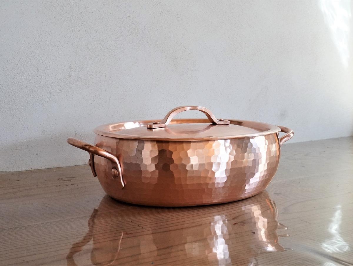 人生最大の高額な鍋を購入。一生使いこみたい京都鍛金職人さんの銅鍋