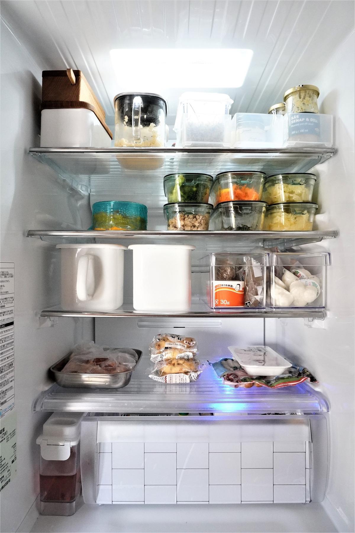 ニトリ冷蔵庫整理トレー12