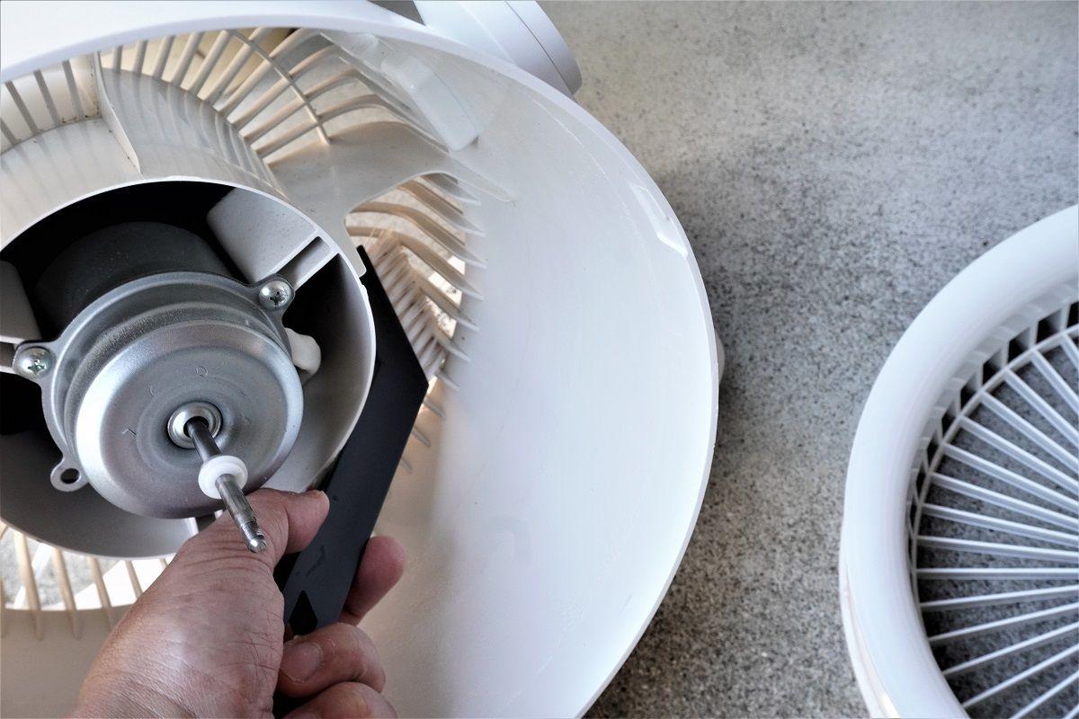 扇風機掃除6