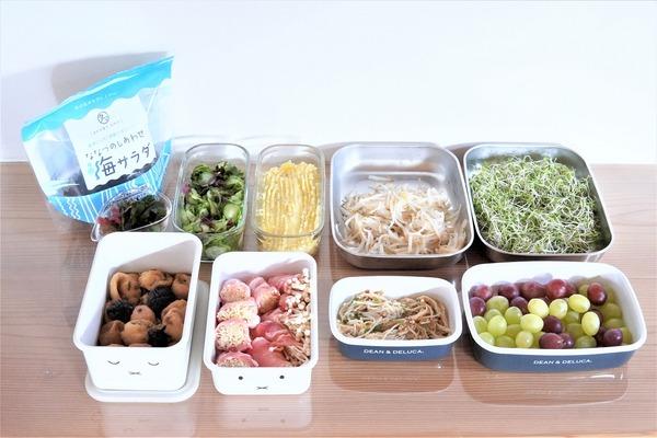 【低糖質】な作り置き色々ご紹介&常温ストック出来る海藻サラダミックス(PR含)