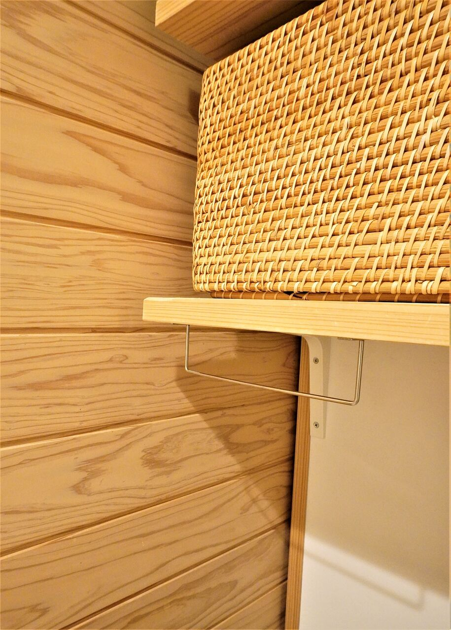 セリアグッズで洗濯スペース改善3