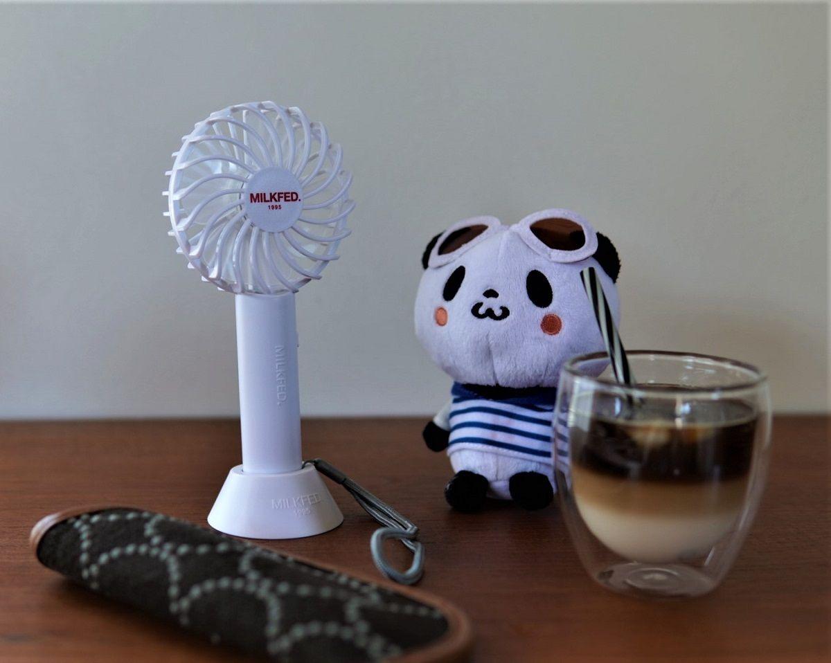 ミルクフェド小型扇風機8