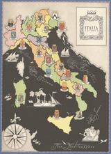 イタリア地図表紙