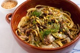 Bucatini con le sarde alla siciliana