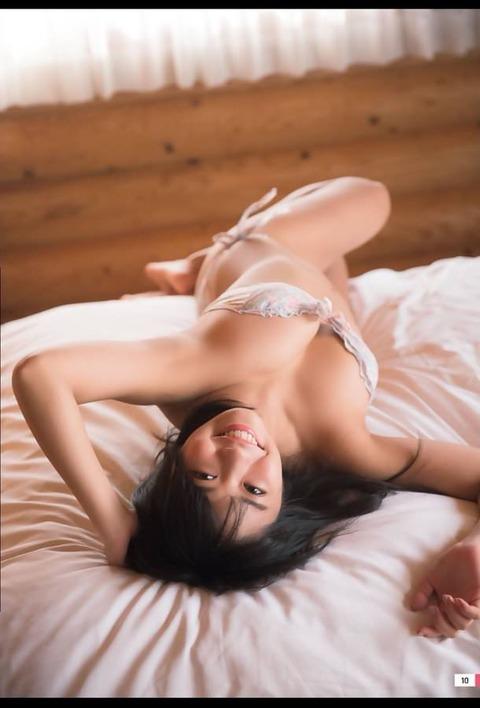 【悲報】大原優乃ちゃん、乳輪?が見えてしまう