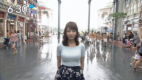 【悲報】ワイ童貞、宇垣アナのおっぱいにまんまと騙される