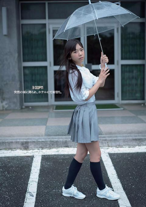 童顔Fカップの長澤茉里奈さんのグラビアがエロすぎ