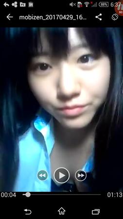 【画像あり】JKの全裸エロ動画