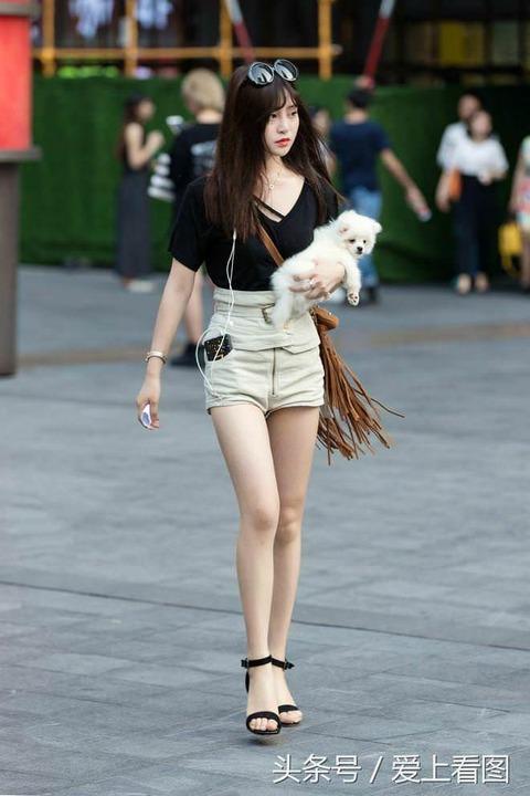 【緊急射精案件】中国のその辺歩いてる女の子がガチで可愛い(画像あり)