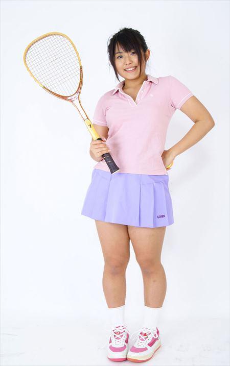 テニス部の女子中学生がエロすぎる