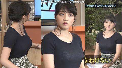 【NHK】 巨乳化の和久田、桑子、杉浦