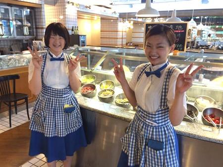 【画像】神戸屋の制服がメチャシコと話題【爆乳】