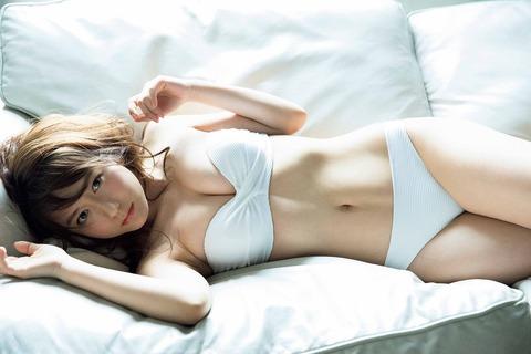 【SKE48】大場美奈、たわわ美乳披露 オトナモード全開