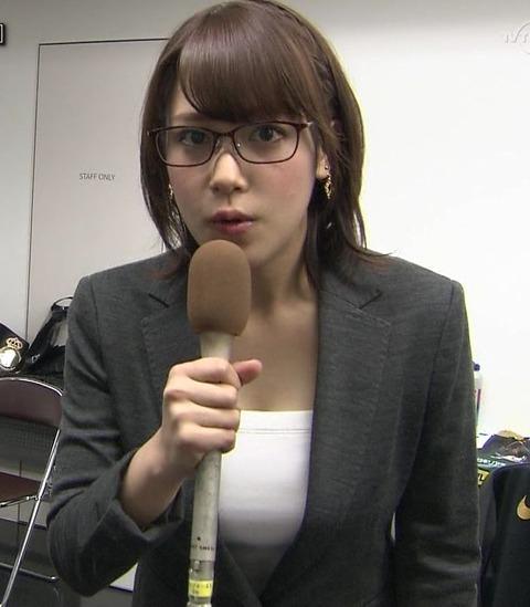 おっぱいの大きいアナウンサーを教えてたもれ