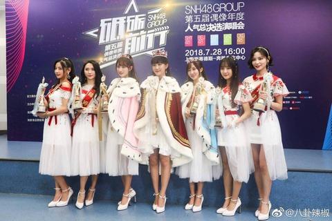 【画像】 中国美少女ランキング2018発表! 可愛すぎワロタwww