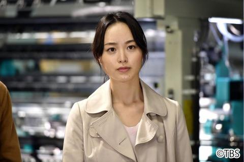 下町ロケットの加納アキ役の朝倉あきちゃんの作業ズボンのお尻が可愛いな
