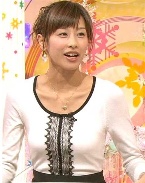 【女子アナ】巨乳・加藤綾子「来襲」で激変するフリー女子アナ勢力図