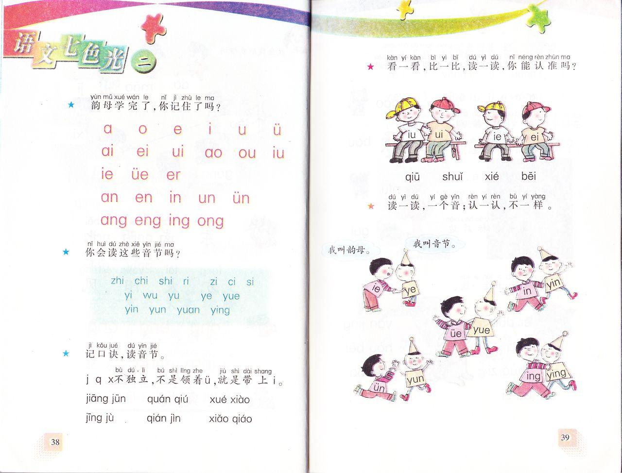 国語 1年生 国語 : 今回の「语文七色光」も中国語 ...