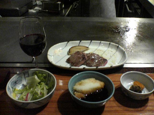 051127ミニッツステーキ定食