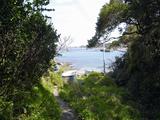 灯台への小道