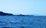 雪化粧した大島