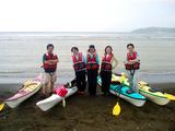 多田良海岸に到着