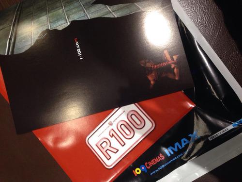 R100のパンフレット