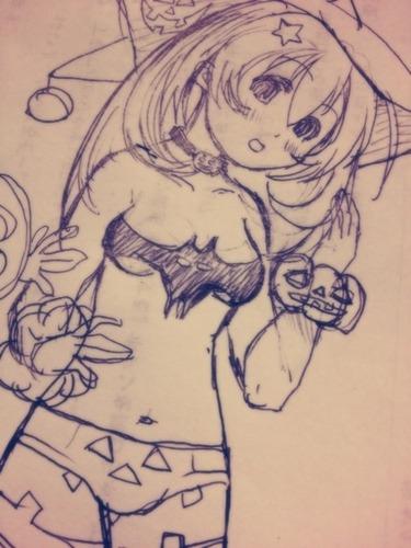 ハロウィン娘その2
