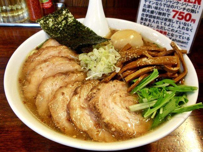 【脂】ワイ(31)、チャーシュー麺がキツい