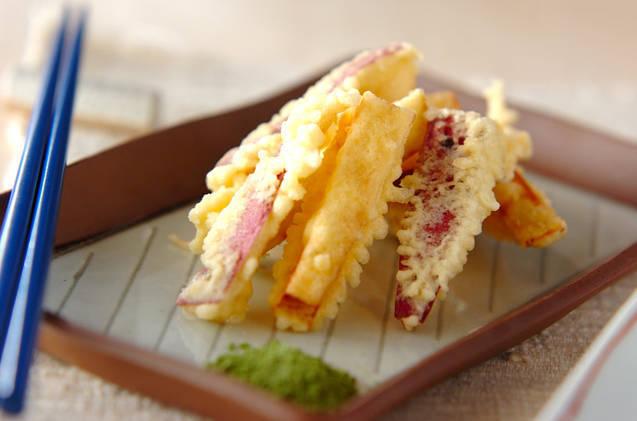 サツマイモの天ぷらとかいう聖域wwwww