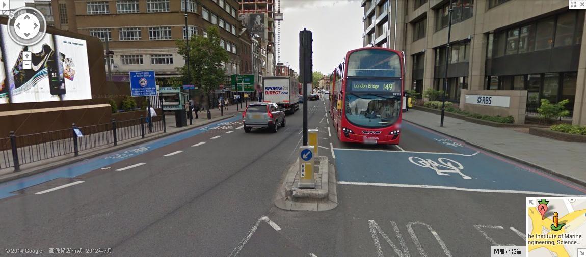 「ロンドン 自転車事故多い」の画像検索結果