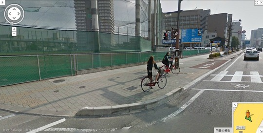自転車の 車 自転車 正面衝突 : https://maps.google.com/maps?q=34.675112 ...