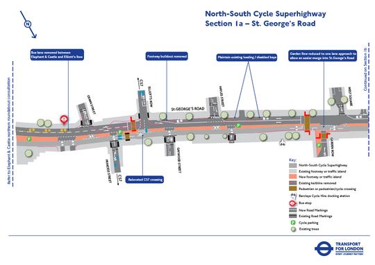 ロンドン市の新型自転車道 ...