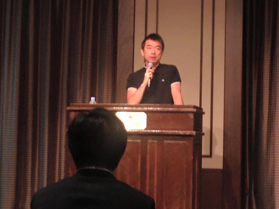 関西維新の会について語る橋下市長
