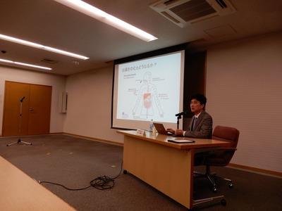 岡本禎晃先生講演
