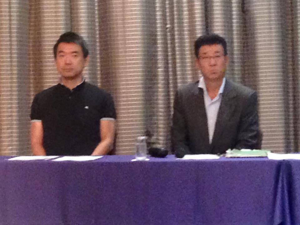 橋下市長と松井知事